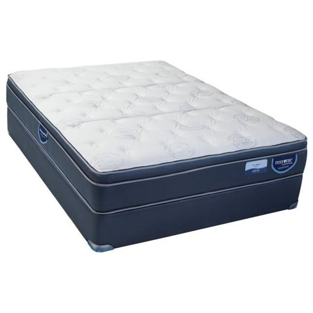 Twin XL Hybrid Pillow Top Mattress Set