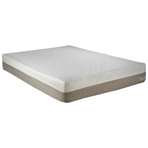 "Restonic Brazil Queen 10"" Gel Memory Foam Mattress"