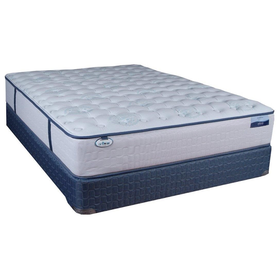 Cal King Firm Pocketed Coil Mattress Set