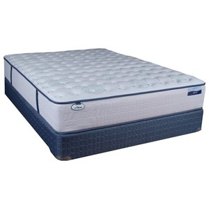 Full Firm Pocketed Coil Mattress Set