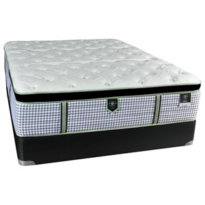 Full Euro Pillow Top Hybrid Mattress Set