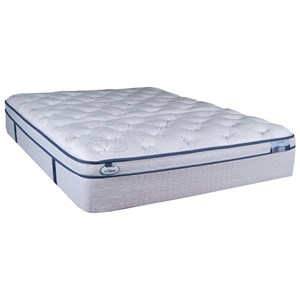 Full Euro Pillow Top Hybrid Mattress