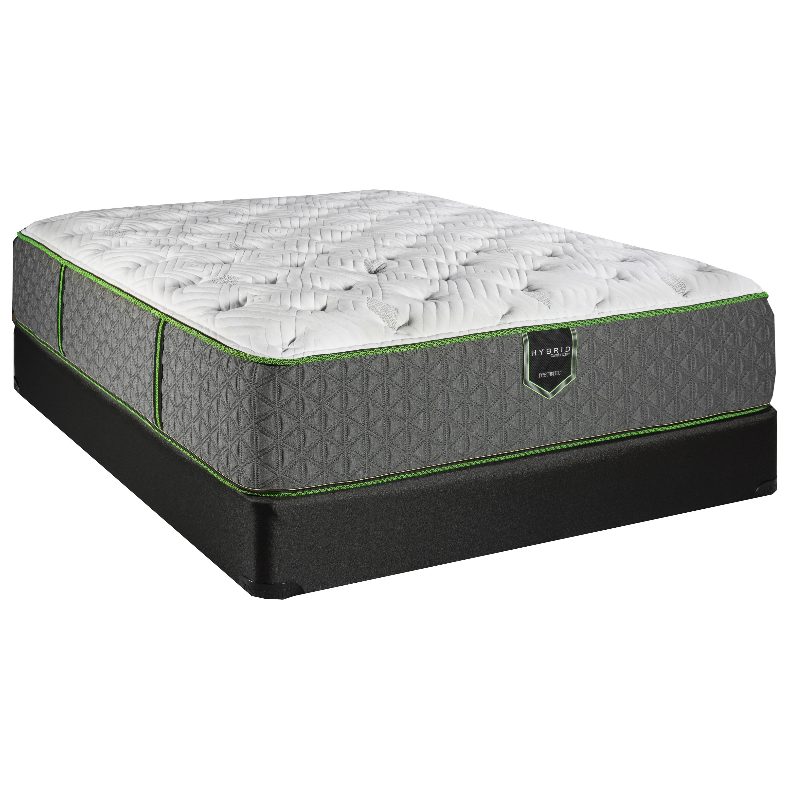 Full Luxury Firm Hybrid Mattress Set