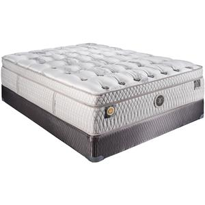 "Restonic Hybrid ""Louvre"" Plush Boxtop Queen Mattress"
