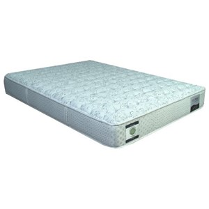 "Restonic CC Linwood Plush Queen 13"" Two Sided Plush Mattress"