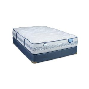 Twin Cushion Firm Mattress Set, Low Profile