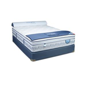 "Restonic CC Select Coolidge Firm Euro Top Full 14"" Euro Top Mattress Set"