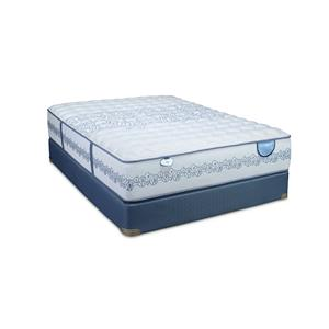 Restonic Atlantis HD Full Firm Mattress Set, Low Profile