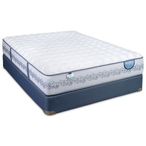 Restonic CC Signature Cornwall Cushion Firm Twin Cushion Firm Hybrid Mattress Set