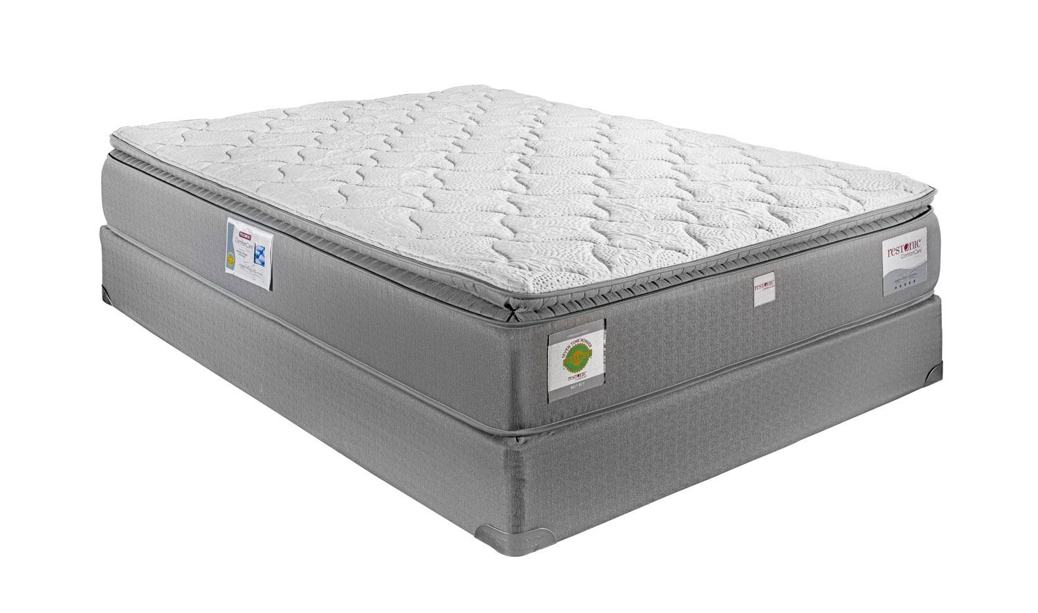 Restonic London Queen Hybrid Pillow Top Mattress - Item Number: PillowTop-Q
