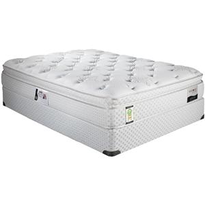 ComfortCare Carmona King Euro Top Mattress and Foundation by Restonic