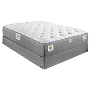 "Restonic Hybrid ""Gentilly"" Queen Luxury Firm Hybrid Mattress Set"
