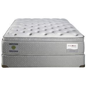 Restonic ComfortCare Select Kingston Queen Euro Top Plush Mattress
