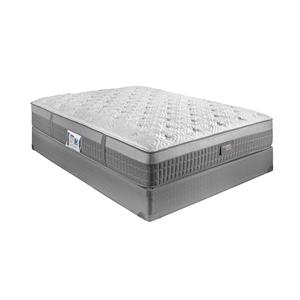 "Restonic Hybrid ""Millenium"" Queen Plush Hybrid Mattress Set"