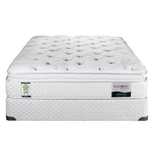 Twin Bristol Super Pillow Top Mattress Set