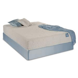 "Restonic Elevate Vitality Pure Queen 11"" Plush Latex Mattress Set"