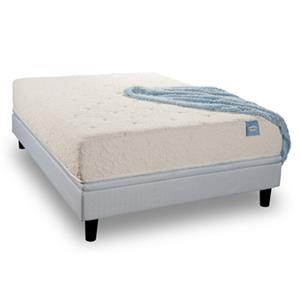 """Restonic Elevate Vitality Pure Queen 10"""" Extra Firm Latex Mattress Set"""