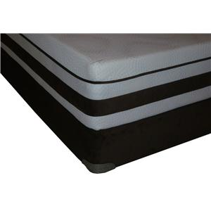 Restonic Elite Latex Queen Latex Mattress Set