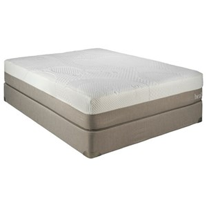 "Restonic Health Rest Queenstown Queen 12"" Gel Infused Memory Foam Matt Set"