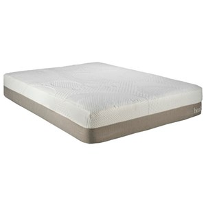 "Restonic Health Rest Queenstown Queen 12"" Gel Infused Memory Foam Mattress"