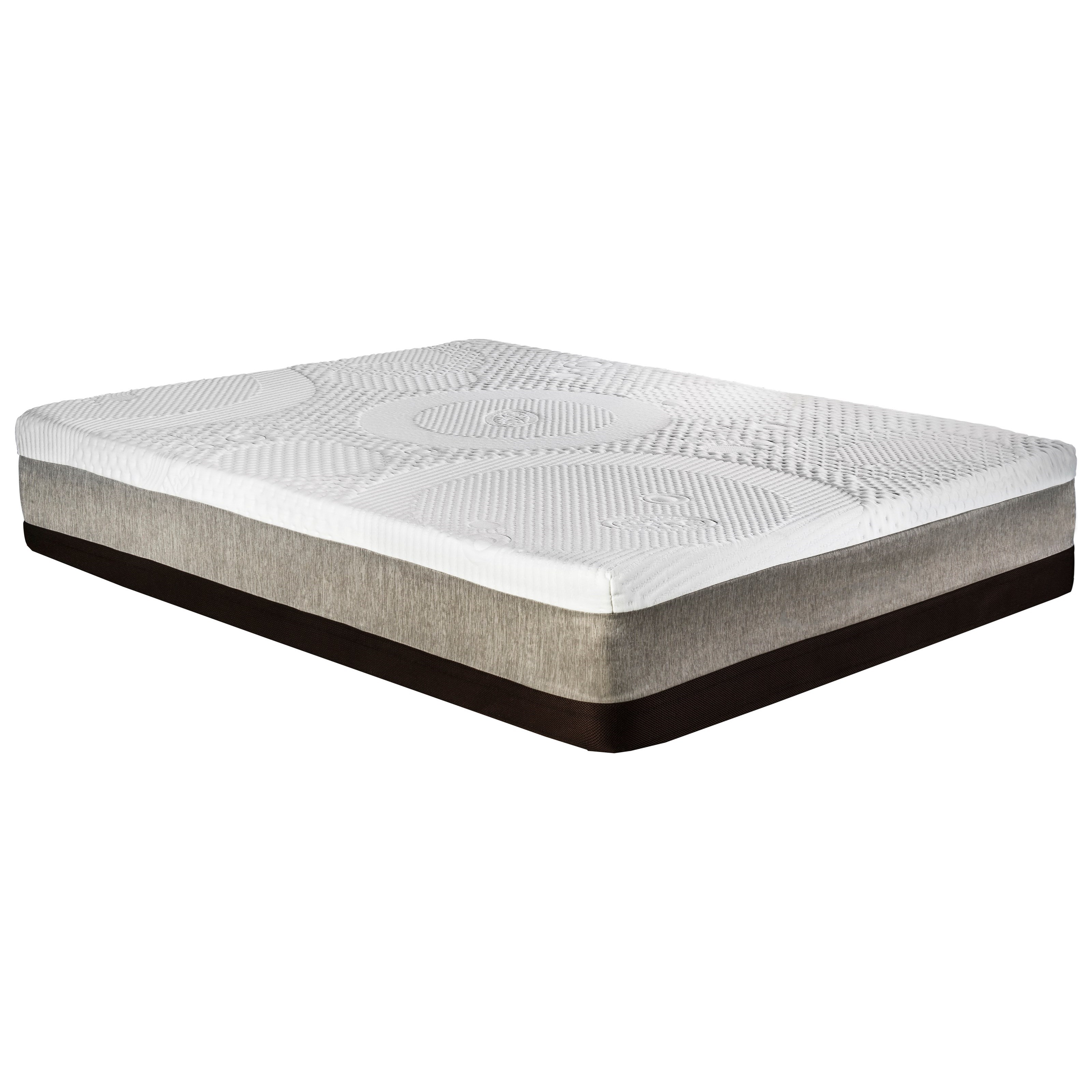 therapy revive mattress memory foam serenity gel bamboo corner rest inch products