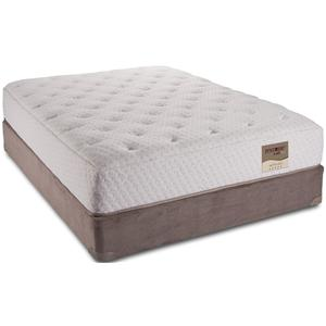 HealthRest Caprina Queen Latex Mattress and Box Spring by Restonic