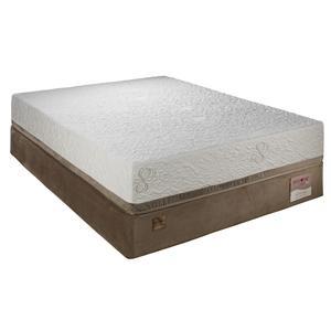 Twin Lux Firm Memory Foam Mattress Set