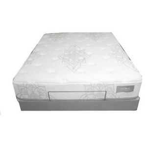 Restonic Healthrest Latex Cabana Cal King Luxury Firm Latex Mattress Set