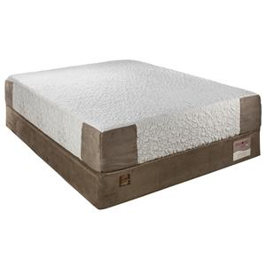 HealthRest Motivation Twin Super Plush Memory Foam Mattress by Restonic