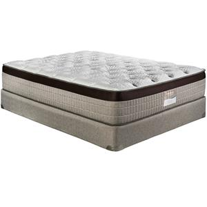 "Restonic Latex ""Prague"" Luxury Firm Queen Mattress Set"