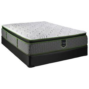 """King 13"""" Pillow Top Hybrid Mattress Set"""