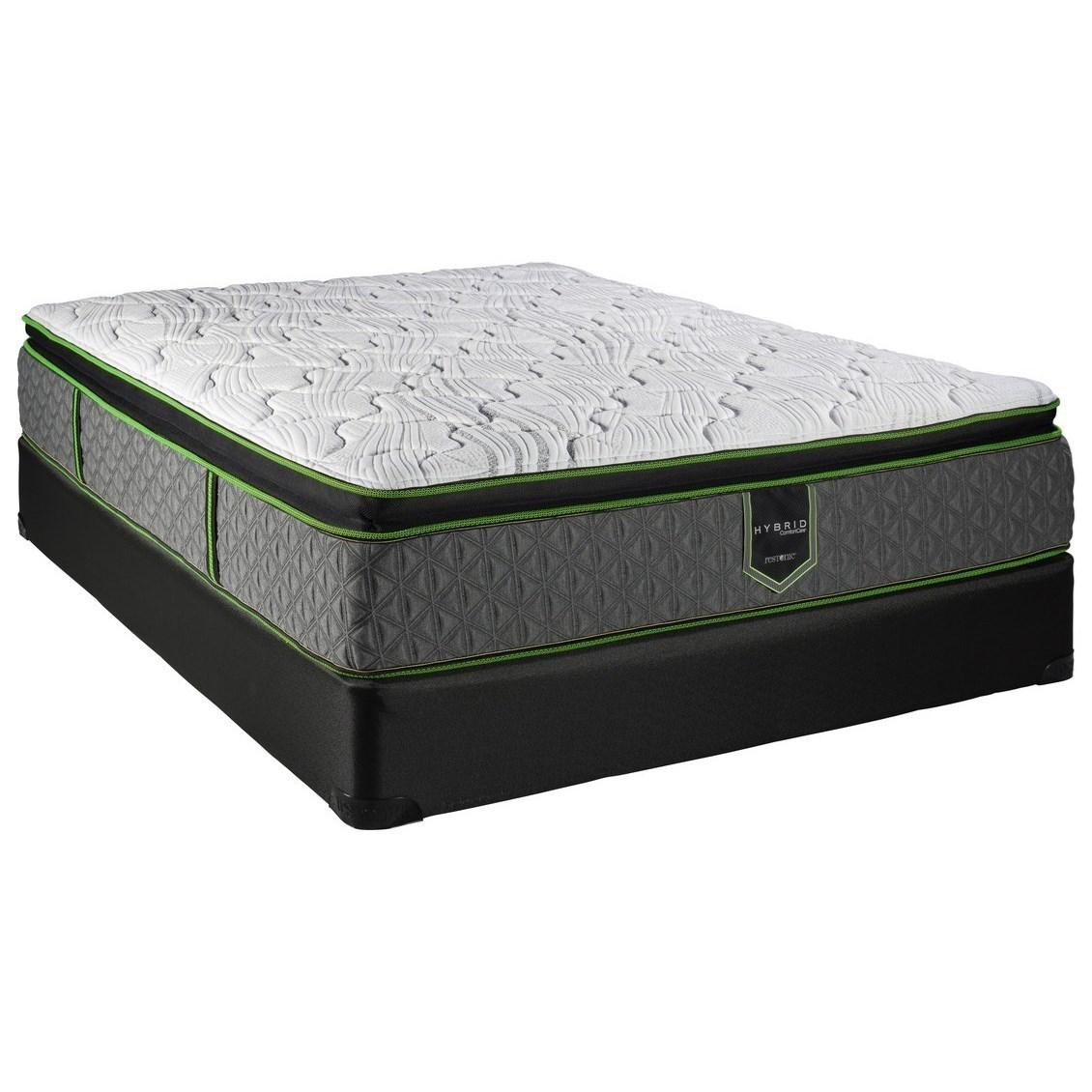Twin Pillow Top Hybrid Mattress Set