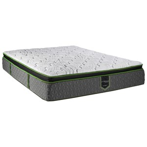 "Queen 12 1/2"" Pillow Top Hybrid Mattress"
