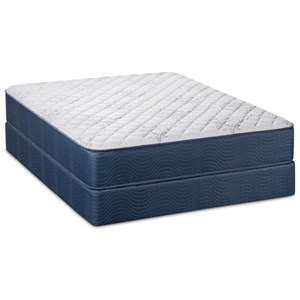 "Twin 12"" Firm Pocketed Coil Mattress Set"