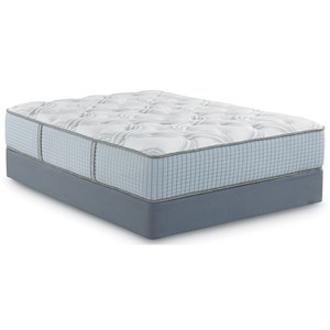 Queen Plush Hybrid Mattress Set