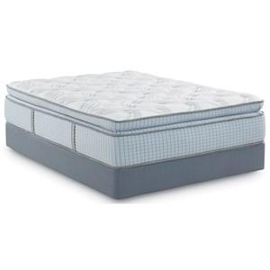 Queen Super Pillow Top Hybrid Mattress Set