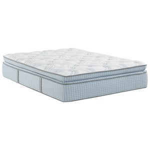 Restonic Scott Living Panorama Super Pillow Top Queen Super Pillow Top Hybrid Mattress