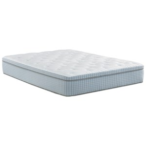 "Restonic Scott Living Sanguine Euro Top Queen 13 1/2"" Talalay Latex Mattress"