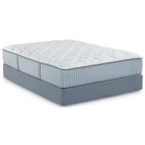 Restonic Scott Living Stargazer Plush Queen Plush Hybrid Mattress Set