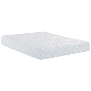"Restonic Scott Living Zen Queen 10"" Memory Foam Adj Set"