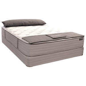 Zak's Private Collection South Holston Plush Twin Plush Pocketed Coil Mattress Set