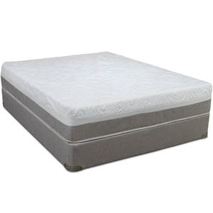 Restonic Awaken Twin Gel Infused Memory Foam Mattress