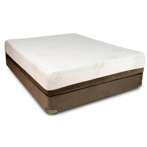 Restonic TempaGel Gemini Queen Memory Foam Mattress Set