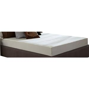 Restonic Wedgewood 8-Inch Queen Memory Foam Mattress Set