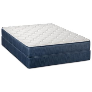Twin Plush 2-Sided Mattress Set