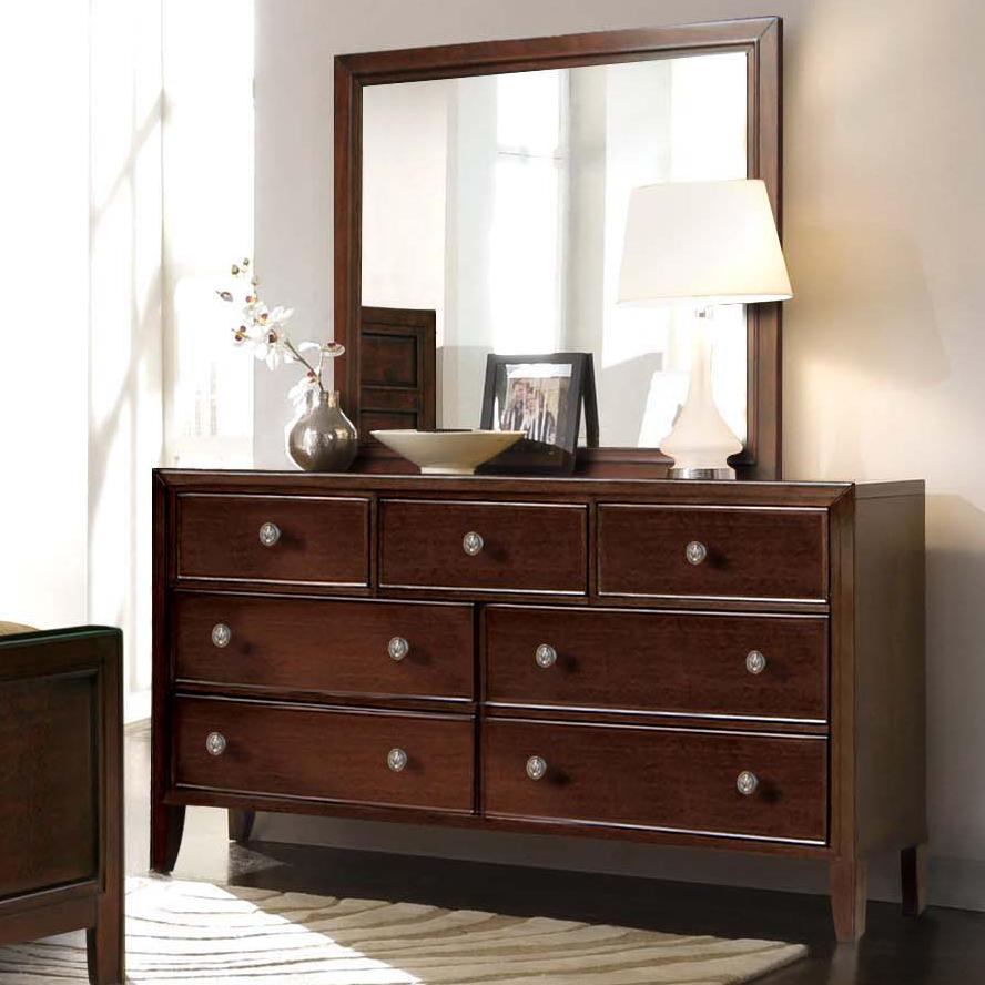 shelves furniture and by mirrors dressers dark brown ashley amazon elegant mirror com with dresser