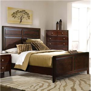 Milan  Queen Panel Bed by RiversEdge Furniture