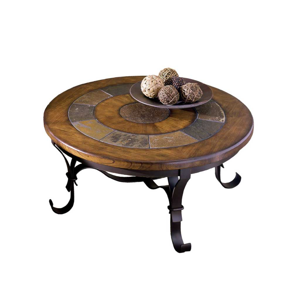Stone Forge Round Tail Table By Riverside Furniture