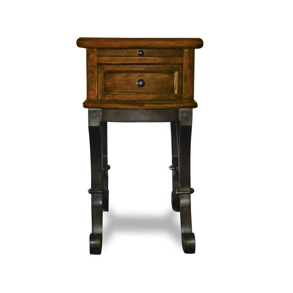 Riverside Furniture Stone Forge Chairside Table - Item Number: 31010