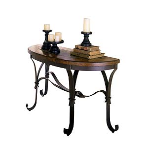 Riverside Furniture Stone Forge Sofa Table